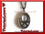 Collana Gothic Locket - Antiqued Silver