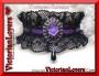 Collarino Gothic Rose - Purple