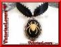 Collarino Aracnofobia - Ivory Spider