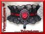 Collarino Gothic Rose - Red