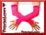 Guanti Rete - Rosa Neon