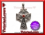 Pendente Red Celtic Cross