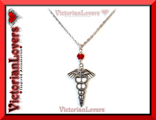 Collana Caduceo by VictorianLovers.com