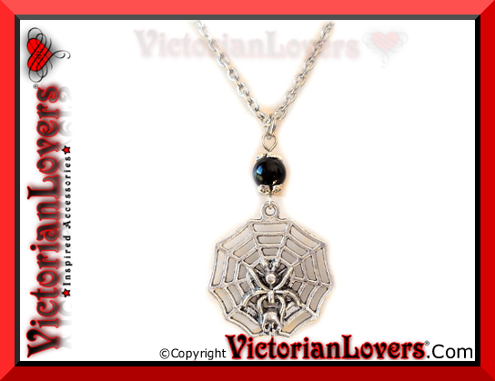Collana Ragnatela by VictorianLovers.com