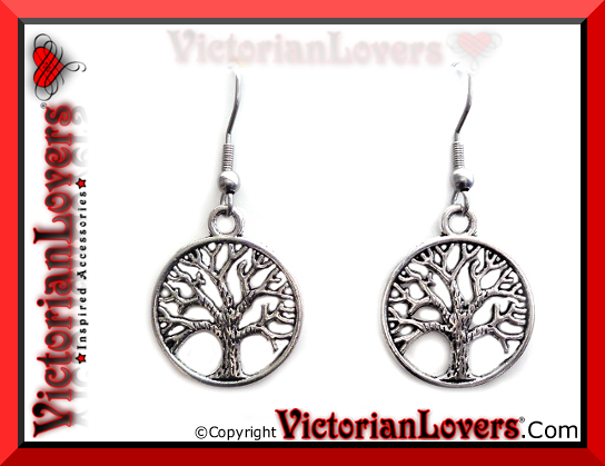 Orecchini Tree of Life by VictorianLovers.com