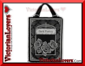 Borsa Libro Dark Poetry by VictorianLovers.com