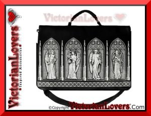 Borsa Gothic Windows by VictorianLovers.com