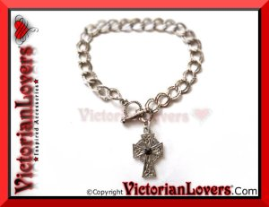 Bracciale Celtic Cross by VictorianLovers.com