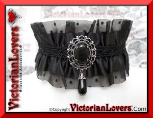 Collarino Black Widow by VictorianLovers.com