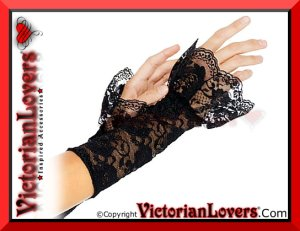 Guanti Gothic Lace by VictorianLovers.com