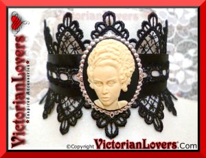 Collarino Frankenstein's Wife by VictorianLovers.com