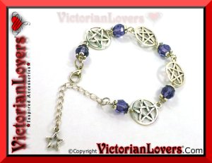 Bracciale Purple Pentacle by VictorianLovers.com