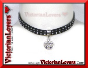Collarino Esoteric Pentacle by VictorianLovers.com