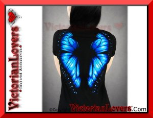 T-shirt Butterfly Wings by VictorianLovers.com