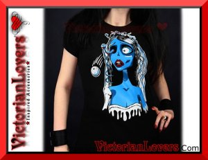 T-shirt Corpse Bride by VictorianLovers.com