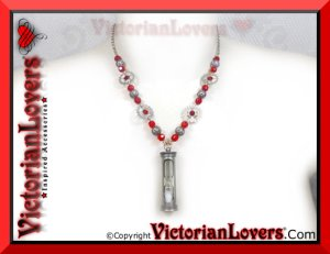 Collana Steampunk Clessidra by VictorianLovers.com
