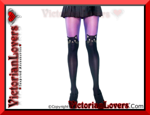 Calze Black Cat by VictorianLovers.com