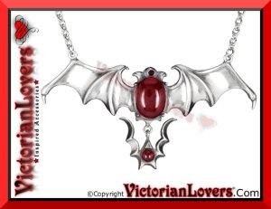 Collana Bat Vampire by VictorianLovers.com