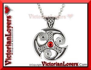 Collana Celtic Spiral by VictorianLovers.com