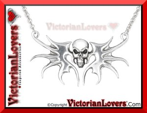Collana Skull by VictorianLovers.com
