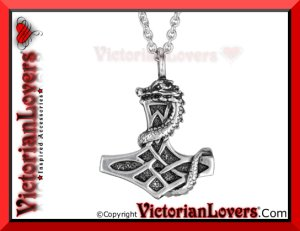 Collana Martello di Thor by VictorianLovers.com
