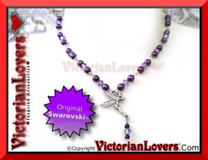 Collana Swarovski Fairy by VictorianLovers.com