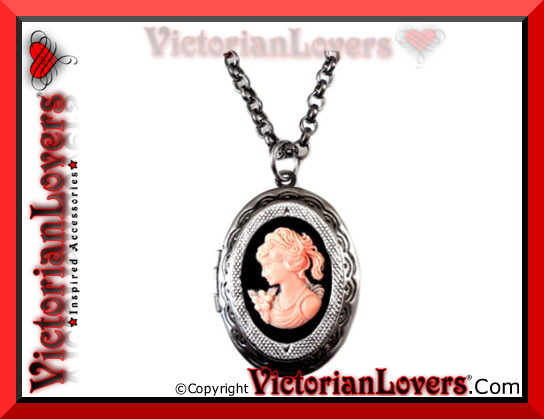 Collana Victorian Locket - Lady Rose by VictorianLovers.com