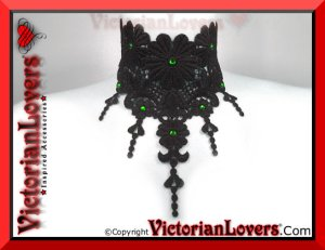 Collarino Enchantress Green by VictorianLovers.com