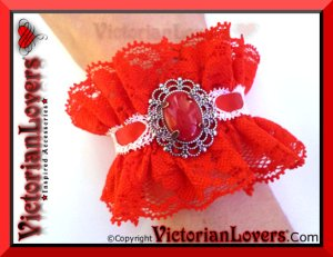 Bracciale Panna e Fragola by VictorianLovers.com