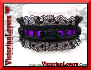 Collarino La Dame des Roses by VictorianLovers.com