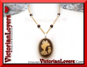 Collana Folletto Marrone by VictorianLovers.com