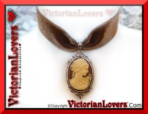 Collarino Lady Brownie by VictorianLovers.com